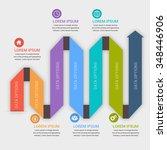 modern business  banner. vector ... | Shutterstock .eps vector #348446906