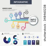 business info graphic | Shutterstock .eps vector #348460238
