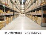 defocused of interior of...   Shutterstock . vector #348466928
