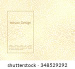 background in mosaic style.... | Shutterstock .eps vector #348529292