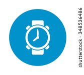 watches icon.  | Shutterstock .eps vector #348536486
