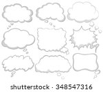 different design of dream... | Shutterstock .eps vector #348547316