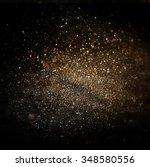 glitter vintage lights... | Shutterstock . vector #348580556