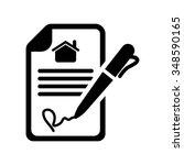 signature icon     Shutterstock .eps vector #348590165