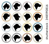 Dog Breed Circle Badges  ...
