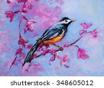 original oil painting on canvas.... | Shutterstock . vector #348605012