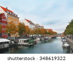 canals and streets of... | Shutterstock . vector #348619322
