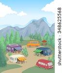 illustration of recreational...   Shutterstock .eps vector #348625568