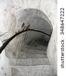 A Spiral Stone Staircase