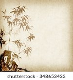 traditional chinese painting... | Shutterstock . vector #348653432