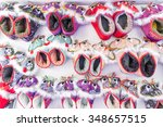 children's shoes made by hand...   Shutterstock . vector #348657515