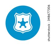 police badge icon. police badge ...