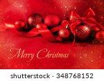 christmas background | Shutterstock . vector #348768152