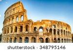 Exterior Of The Colosseum  Als...