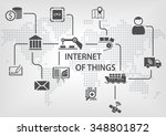 internet of things  iot ... | Shutterstock .eps vector #348801872
