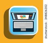 creative ideas graphic designer ... | Shutterstock .eps vector #348826202