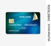 bank card  credit card design...