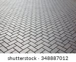 Brick Floor With Reflection