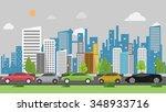 traffic jam background