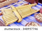 Small photo of Khene, Thai musical instruments, Khene is a mouth organ of thai origin whose