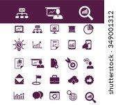 online education  learning ... | Shutterstock .eps vector #349001312