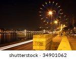 Night Budapest In Spectrum View