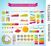 vector infographics template... | Shutterstock .eps vector #349037516