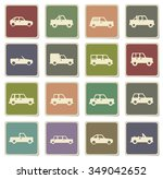cars label icons for web | Shutterstock .eps vector #349042652