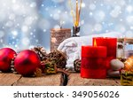 spa concept  wellness objects... | Shutterstock . vector #349056026