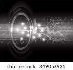 dark black color light abstract ... | Shutterstock .eps vector #349056935
