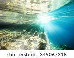 Underwater World On Wave...