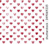 heart  background watercolor | Shutterstock . vector #349069235