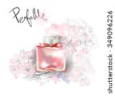 Beautiful Perfume Bottle With...
