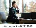 business man in a suit | Shutterstock . vector #349111082