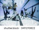 montreal  circa june 2014   two ... | Shutterstock . vector #349193822