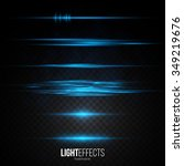 Set Of Abstract Lens Flares  ...