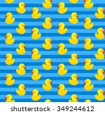 cute seamless pattern with... | Shutterstock .eps vector #349244612