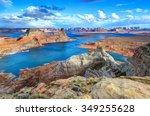 alstrom point  lake powell ... | Shutterstock . vector #349255628