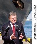 odessa  ukraine     10 april  ... | Shutterstock . vector #349282265