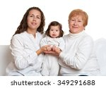 happy family portrait  ... | Shutterstock . vector #349291688