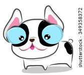 vector illustration of cute... | Shutterstock .eps vector #349358372