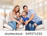 couch. | Shutterstock . vector #349371332