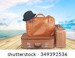 suitcase. | Shutterstock . vector #349392536