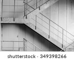 black and white outdoor the... | Shutterstock . vector #349398266