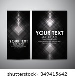 abstract square pattern.... | Shutterstock .eps vector #349415642