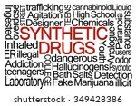 synthetic drugs word cloud on... | Shutterstock . vector #349428386