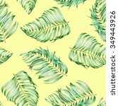 a seamless pattern with the... | Shutterstock . vector #349443926