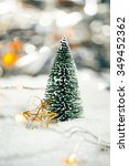 Miniature Christmas Tree In Th...