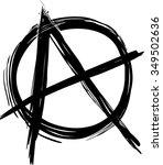 anarchy symbol | Shutterstock .eps vector #349502636