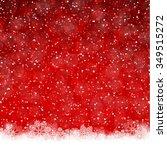 christmas background | Shutterstock .eps vector #349515272